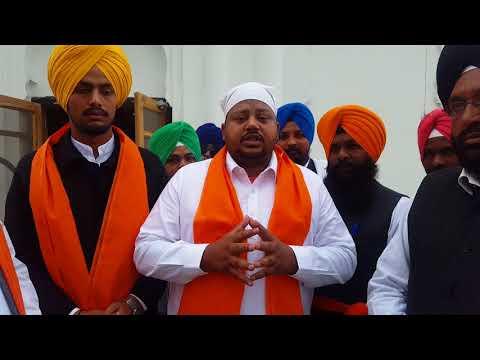 Randeep gill chariman All India Akhil valmiki Dhrama samaj AVADHAS & Shaheed Baba Jeewan Singh ji 20