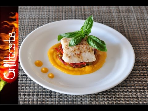 Sea Bass With Mango Sauce
