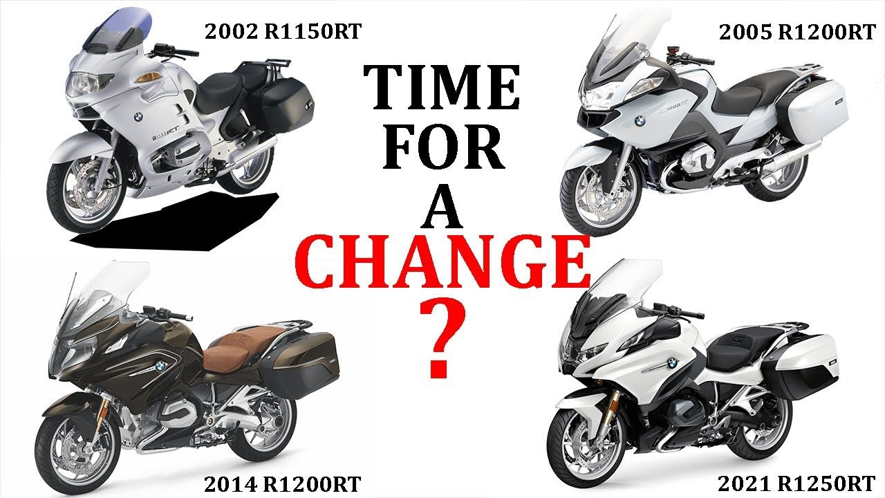 When to upgrade your BMW RT to the newest R1250RT?