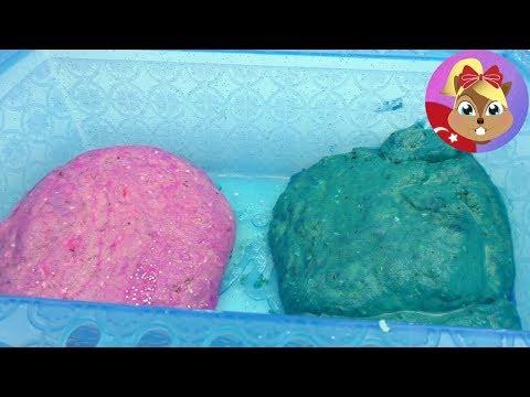 Kinetik Kum Nasıl Yapılır? Evde Yapılan Oyun Kumu Tarifi - Oyun Hamuru yapımı