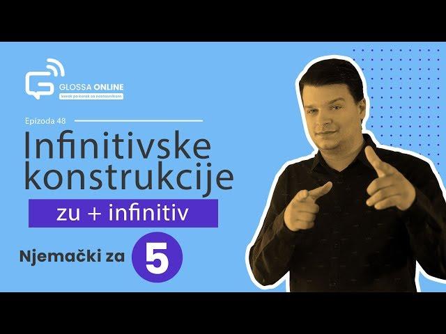 Njemački za 5: Infinitivske konstrukcije