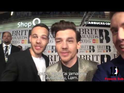 Louis Tomlinson et Liam Payne aux Brits Awards 2016 VOSTFR Traduction Française