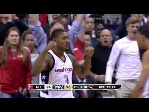 John Wall And Bradley Beal Combine For 63 Points, Duo's Most-Ever In A Playoff Game | April 19, 2017
