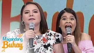 """Magandang Buhay: Karla and Melai imitate """"Nung Ako'y Bata Pa"""" viral video"""
