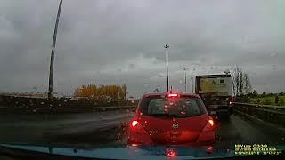 На Киевском шоссе 301й автобус прилетел в  шкоду и форд.