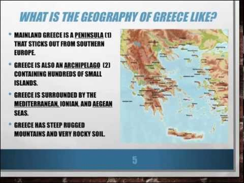 Geography of Ancient Greece - Lesson 1