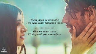 thodi-jagah-arijit-singh-lyrics-with-english-translation