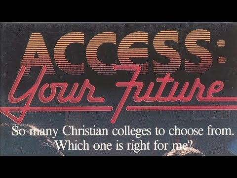 Access Your Future [80s Internet + Christian College Batshitery!] [VHS] [1988]