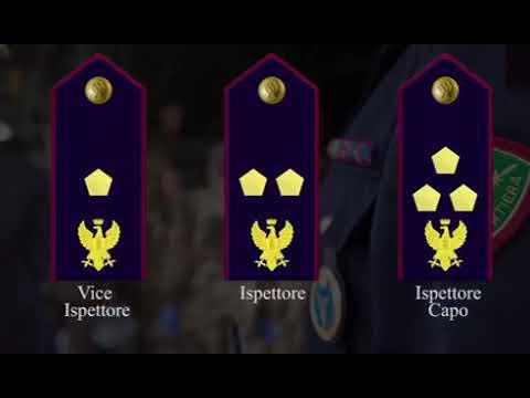 I nuovi gradi della Polizia di StatoVideo ...
