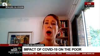 SA Lockdown I Impact of COVID-19 on the poor:  Isobel Frye