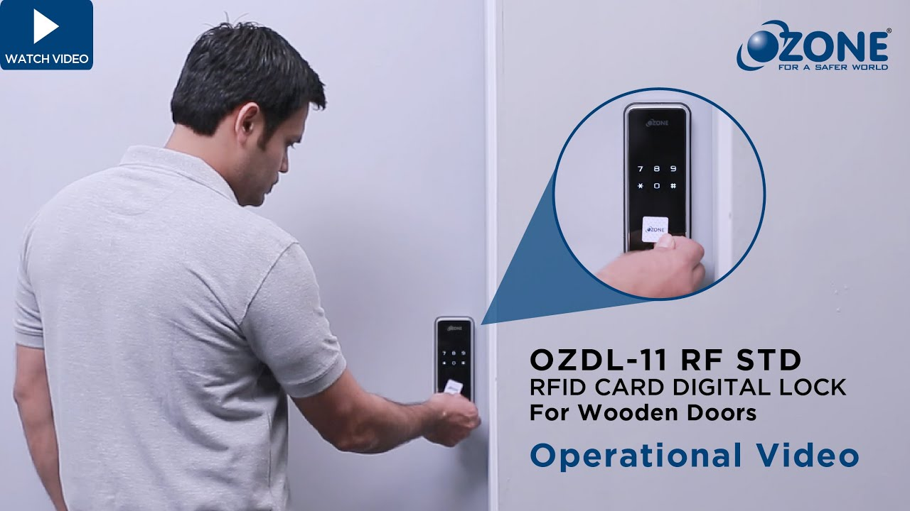 RFID Card Digital Lock,OZDL-11 RF STD,