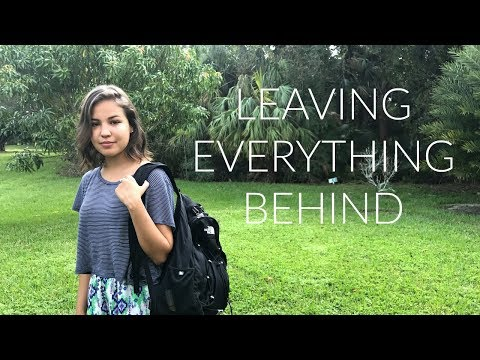 Packing up my life into a Backpack | Hurricane Irma Update