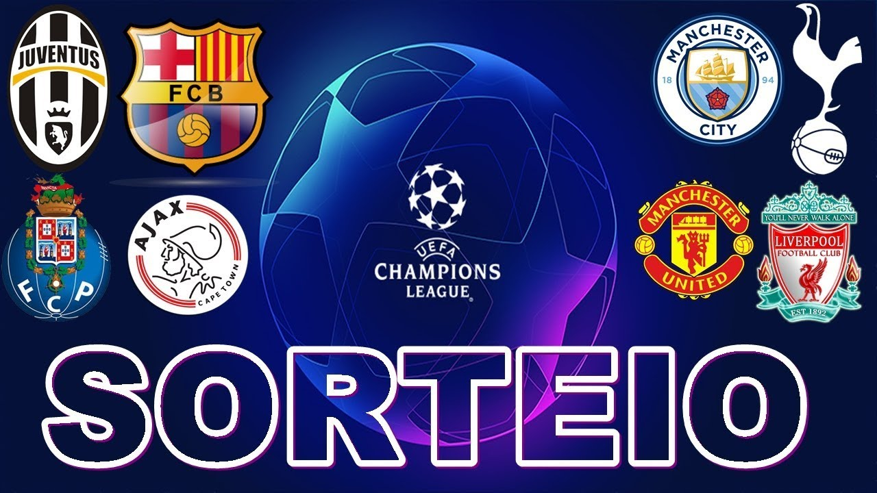 Sorteio dos confrontos das quartas de final da UEFA Champions League 2018/2019