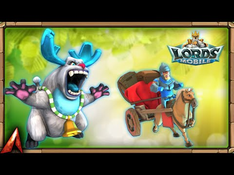 Snow Beast Familiar Skill Seasoned Courier! A MUST For Banks! Lords Mobile