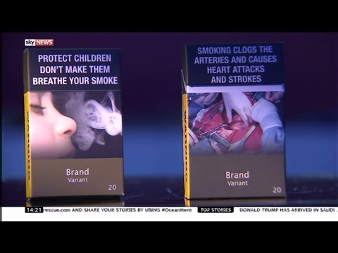 Changes to Cigarette packaging - Sam Naz spoke to Hazel Cheesman