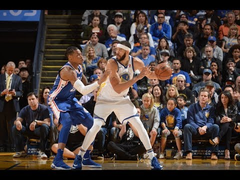 Javale McGee - 11 Points Full Bucketilation - Warriors vs. 76ers (11/11/17)