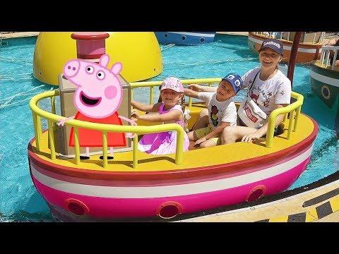 Diana and Peppa Pig Theme Park
