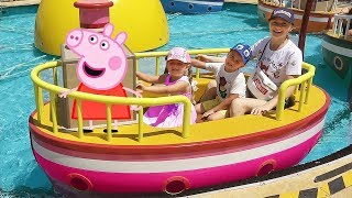 Download Diana and Peppa Pig Theme Park Mp3 and Videos