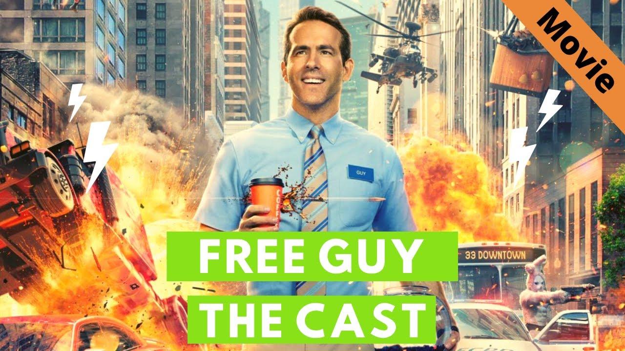 Free Guy Movie I The Cast I Movie Scenes I 2021