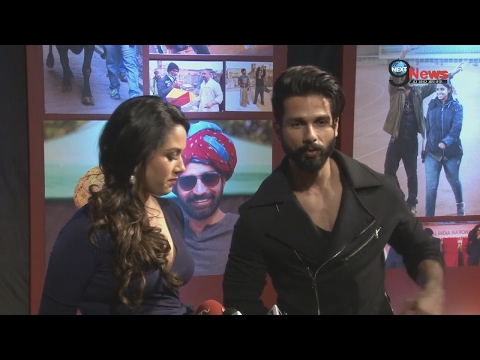 WATCH VIDEO: Mira Rajput With Hubby Shahid Kapoor Responds To Media Queries | Dangal Success Party