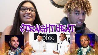 Chris Brown - Heat ft Gunna (music video reaction)