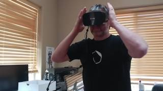 FOVE VR  UNBOX quick look at whats inside