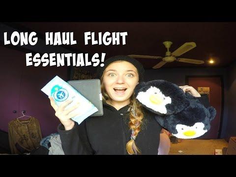 LONG HAUL FLIGHT TRAVEL ESSENTIALS!