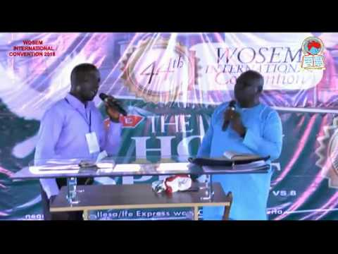 44Th WOSEM INT'L CONFERENCE 2018 EVENING SESSION DAY6