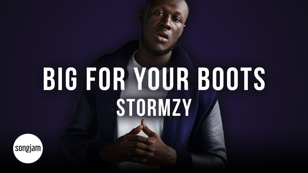 Download Stormzy - Big For Your Boots (Official Karaoke Instrumental) | SongJam