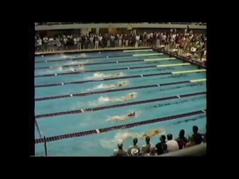 1992 IHSAA State Prelims boys 200 Freestyle Relay Lebanon Tiger Sharks