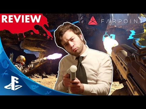 PSVR Review→ Farpoint: REVIEW   Is this the PSVR KILLER App?