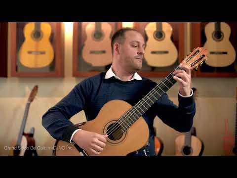 Stephane Ferre Double Top Guitar, Tariq Harb Guitarist, Villa Lobos Composer