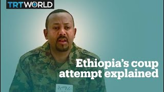 Failed coup attempt in Ethiopia