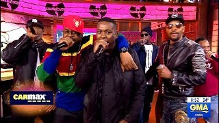 Wu-Tang Clan - Performs Protect Ya Neck - GMA Live