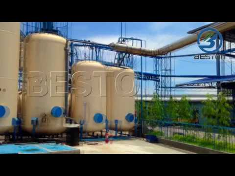 Beston Continous Waste Oil Distillation/Refining Plant for S