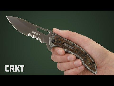 CRKT 5473 Fossil Black video_1