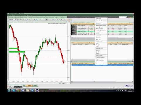 3 live scalp trades ont the DAX, august 24 20115
