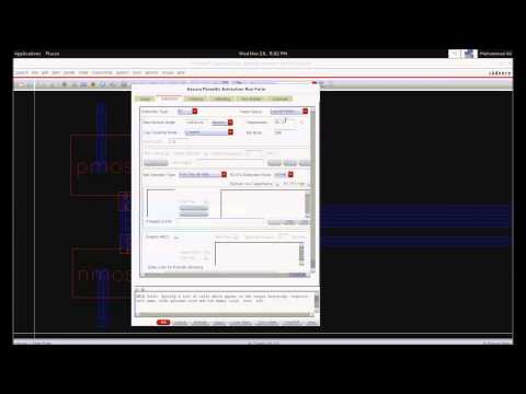 Cadence: Layout Extraction