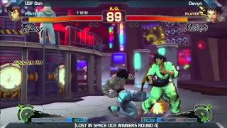 SSF4: USF Don vs Devyn - LOST IN SPACE 003