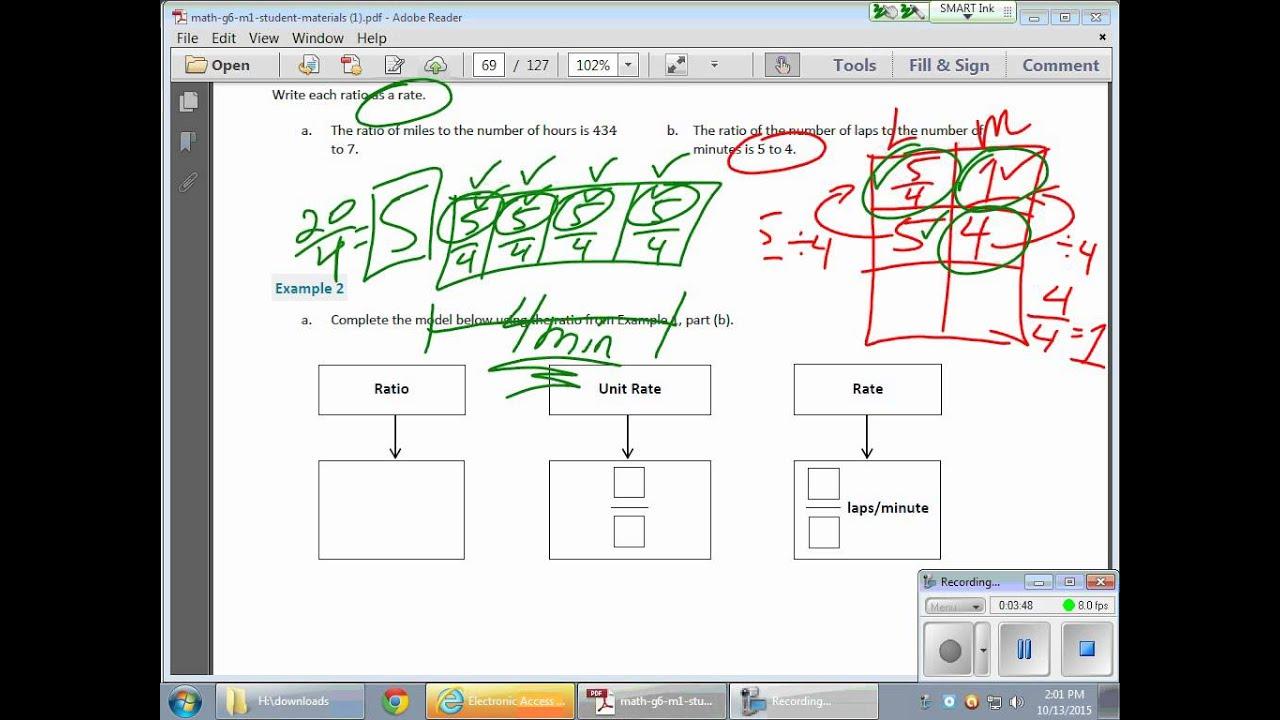Grade 6 Module 1 Lesson 17