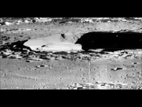 nouvel ordre mondial   Une soucoupe volante photographiée par la NASA sur la Lune