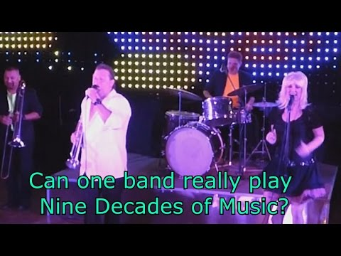 Throwback Decades Band performing 9 decades of Music, Agent Video