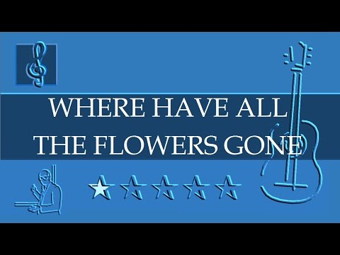 Where Have All The Flowers Gone Instrumental Guitar Backing Track