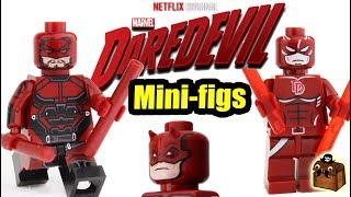 Daredevil LEGO Custom Minifigures 2018