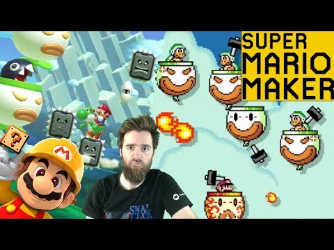 Thumbnail: Five Strikes & You're Out | SUPER EXPERT 5 LIFE SKIP [SUPER MARIO MAKER]