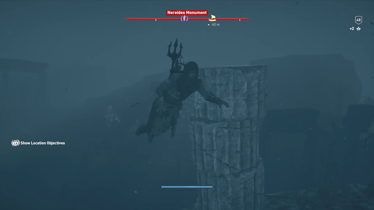 Assassins Creed Odyssey Nereides Monument Shipwreck By Khan007