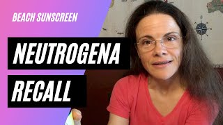 Recall: Neutrogena sunscreen