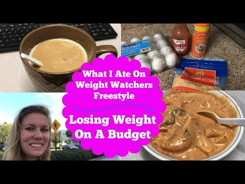 What I Ate On Weight Watchers Smart Points   Losing Weight On A Budget