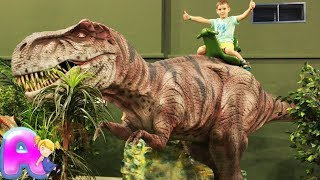Dinopark Amusement park Entertainment by Anna Kids