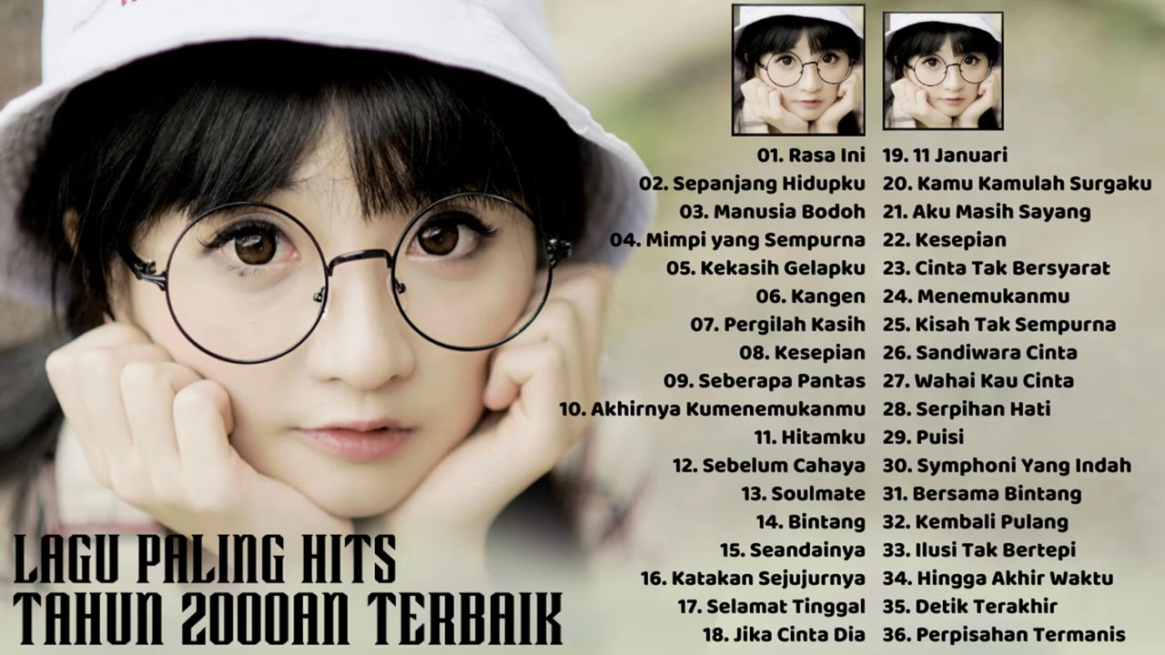 Download Lagu Tahun 2000an Indonesia Terbaik - 36 Top Lagu Nostalgia Waktu SMA Tahun 2000an Paling Hits